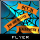 Spider Web - Halloween Flyer Template - GraphicRiver Item for Sale