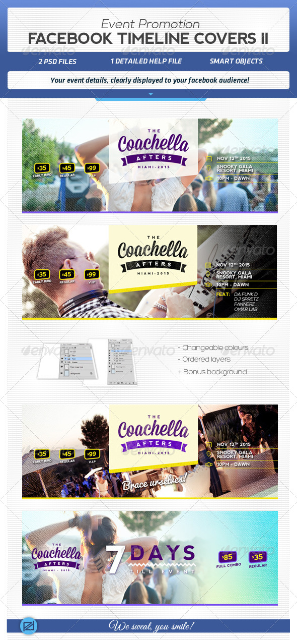 GraphicRiver Facebook Event Promotion Covers II 5546704