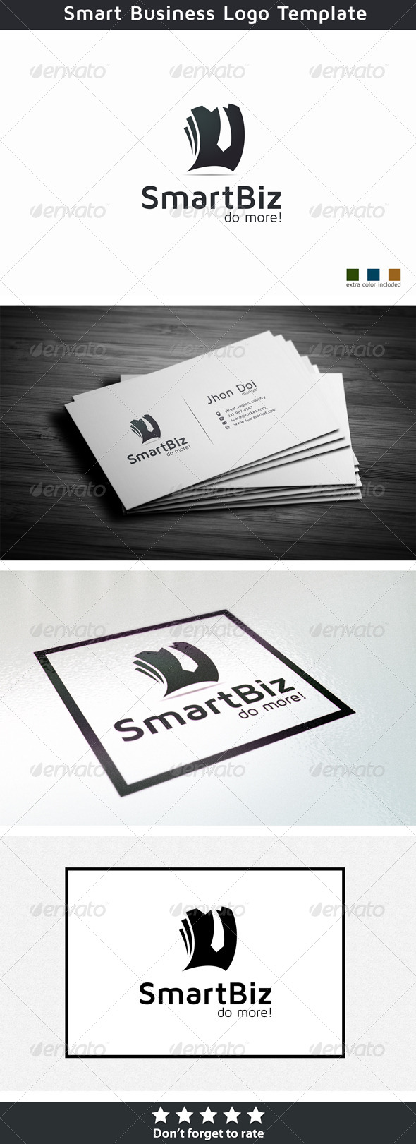 Smart business - Symbols Logo Templates
