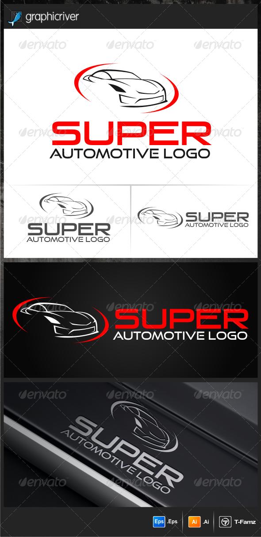 GraphicRiver Super Auto Logo Templates 5549310