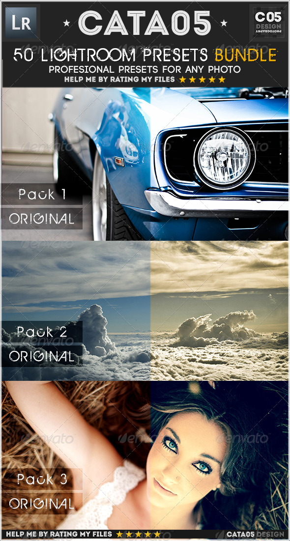 GraphicRiver 150 Lightroom Presets Bundle 5549390
