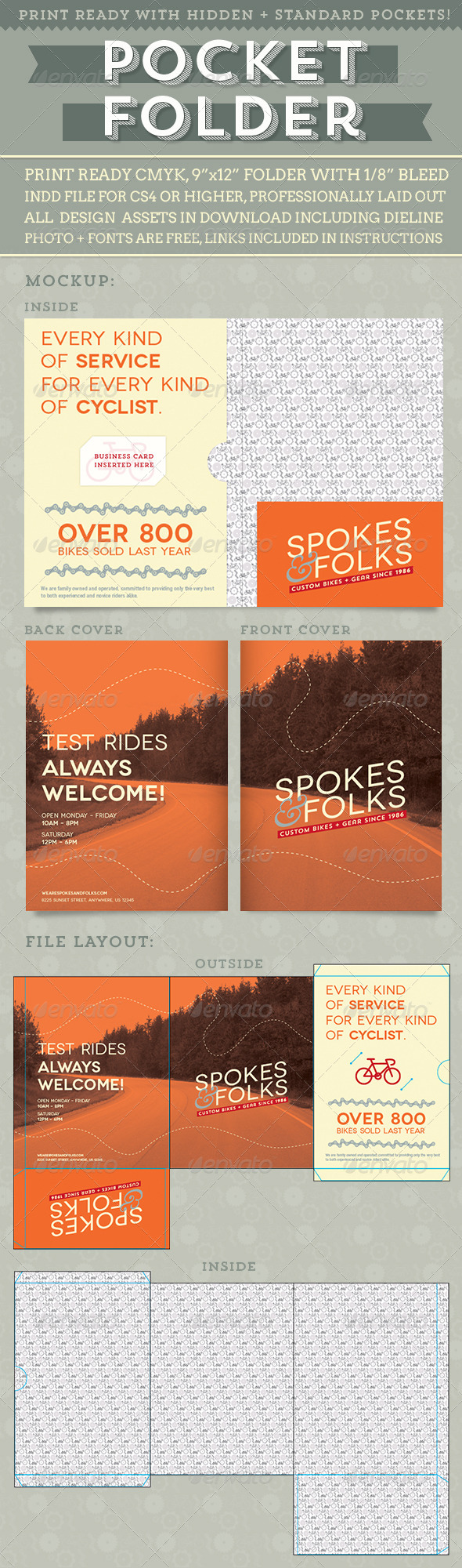 GraphicRiver Custom Pocket Folder 5549412