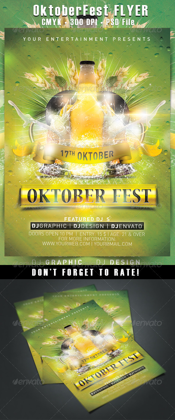 GraphicRiver OktoberFest Flyer 5525425