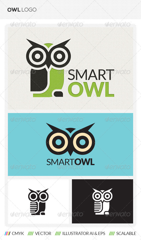 GraphicRiver Owl Logo Template 5530148
