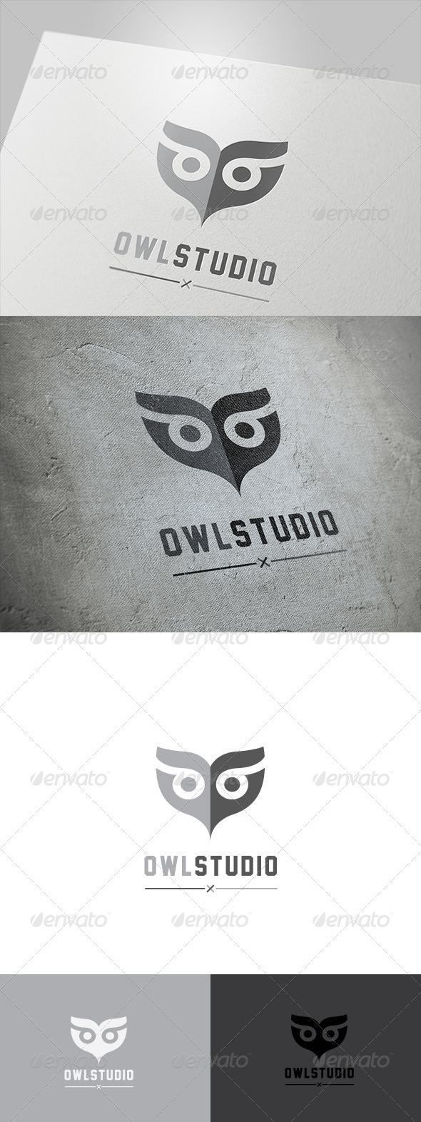 Owl Studio  - Animals Logo Templates
