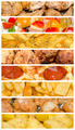 Delicious But Unhealthy Variety Of Fast Food Collage - PhotoDune Item for Sale