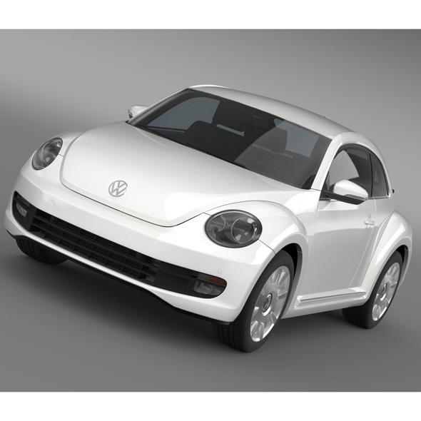 3DOcean VW I Beetle 2015 5553010