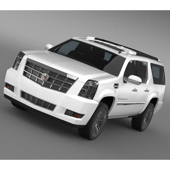 3DOcean Cadillac Escalade 2011 Platinum ESV 5554040