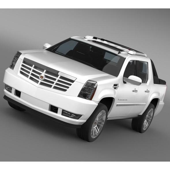 3DOcean Cadillac Escalade 2013 EXT 5554983