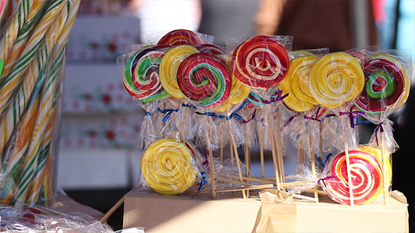 VideoHive Lollipops for Sale 5554997