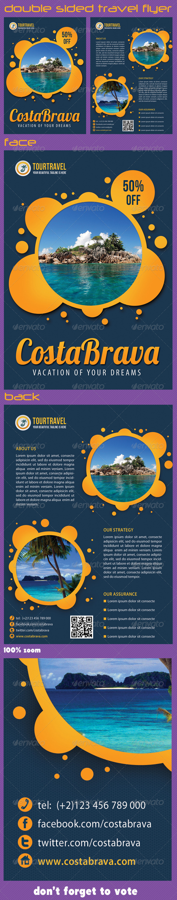 GraphicRiver Travel Agency Corporate Flyer 02 5555689