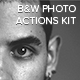 Black & White Photo Actions Kit - GraphicRiver Item for Sale