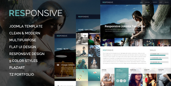 ThemeForest Responsive Multi-Purpose Joomla Template 5557643