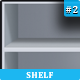 Book &amp;amp; Icon Shelf #2 - GraphicRiver Item for Sale