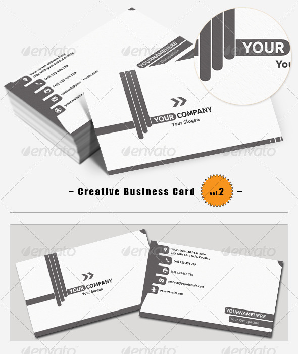 GraphicRiver Creative Business Card 2 5557974