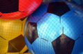 colorful footballs - PhotoDune Item for Sale
