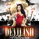 Devilish Halloween Glamour Flyer Template - GraphicRiver Item for Sale