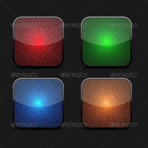 GraphicRiver Collection of Glowing Icons 5560551