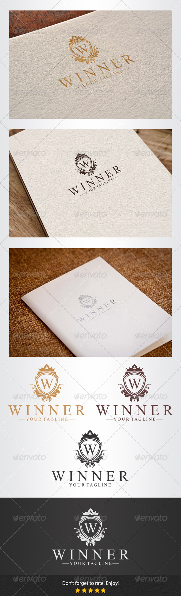 Winner Logo - Crests Logo Templates