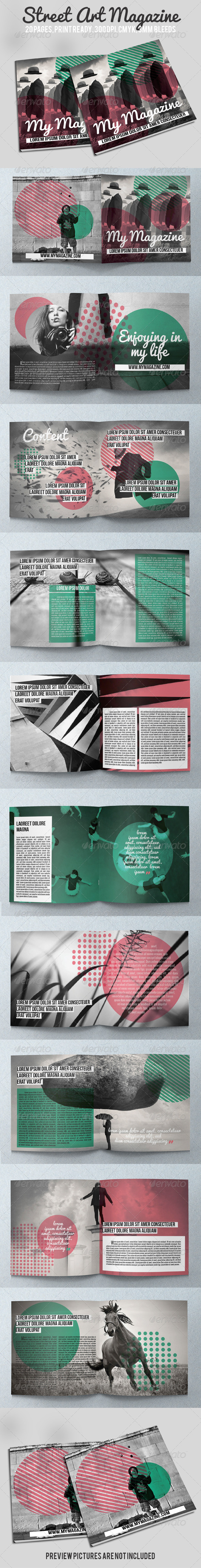 GraphicRiver Street Art Magazine 5561079