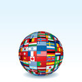 Globe Made from World Flags - PhotoDune Item for Sale