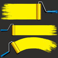Isolated Yellow Paint Rollers. - PhotoDune Item for Sale