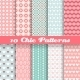 Chic Different Seamless Patterns - GraphicRiver Item for Sale