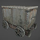 Mine wagon / cart - 3DOcean Item for Sale