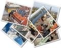 Collage of photos of Riga Latvia isolated on the white background - PhotoDune Item for Sale