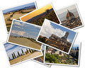Collage of photos of Tuscany Italy on the white background - PhotoDune Item for Sale