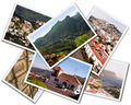 Collage of Gran Canaria Canary Islands photos isolated on white background - PhotoDune Item for Sale
