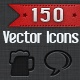 150 Vector Icons - Communication - GraphicRiver Item for Sale