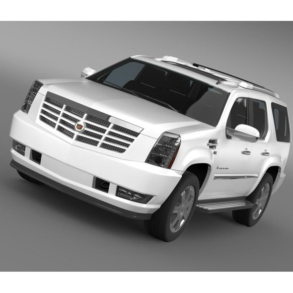 3DOcean Cadillac Escalade European Version 5563424
