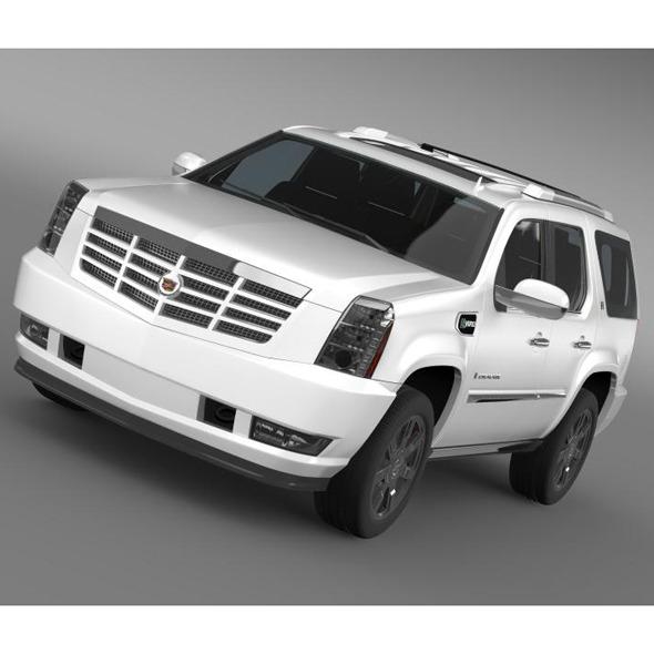 3DOcean Cadillac Escalade Hybrid 5563443