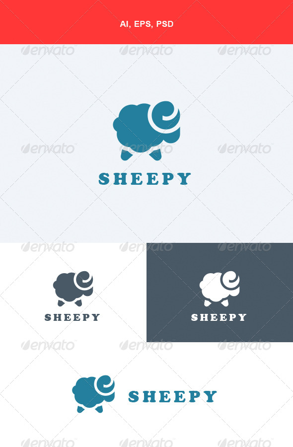 GraphicRiver Sheepy Logo 5564045