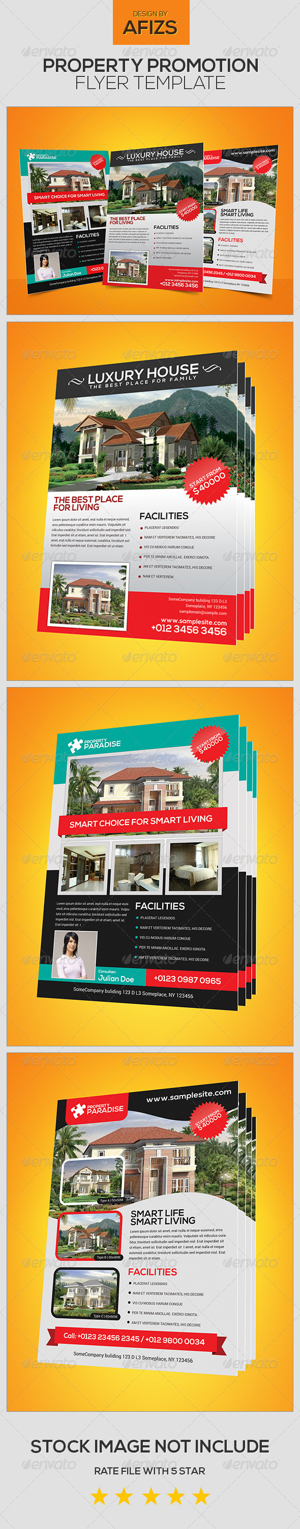 GraphicRiver Property Promotion Flyer 5542828