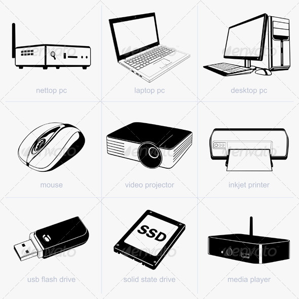 GraphicRiver Computer Technology Devices 5565820