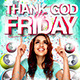 Thank God its Friday Flyer Template - GraphicRiver Item for Sale