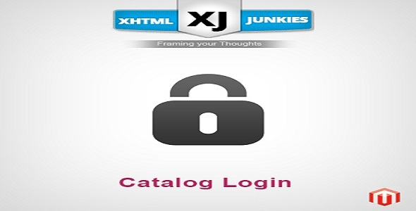 CodeCanyon XJ Catalog Login Extension 5568381