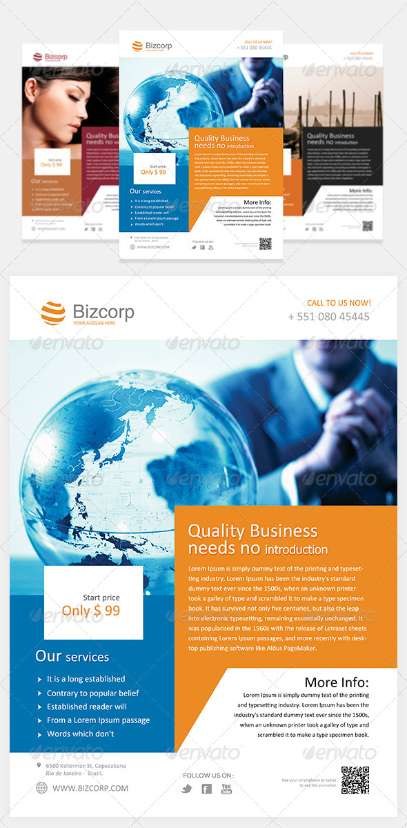 GraphicRiver Multipurpose Corporate Flyer Vol 2 5569182