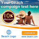 Beach and Holiday Banners - GraphicRiver Item for Sale