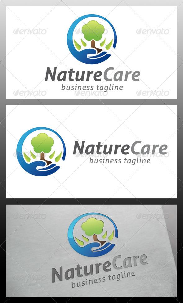GraphicRiver Nature Care Logo Template 5571579