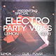 Electro Party Vibes Flyer - GraphicRiver Item for Sale