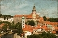 Cesky Krumlov, Czech Republic - Vintage - PhotoDune Item for Sale