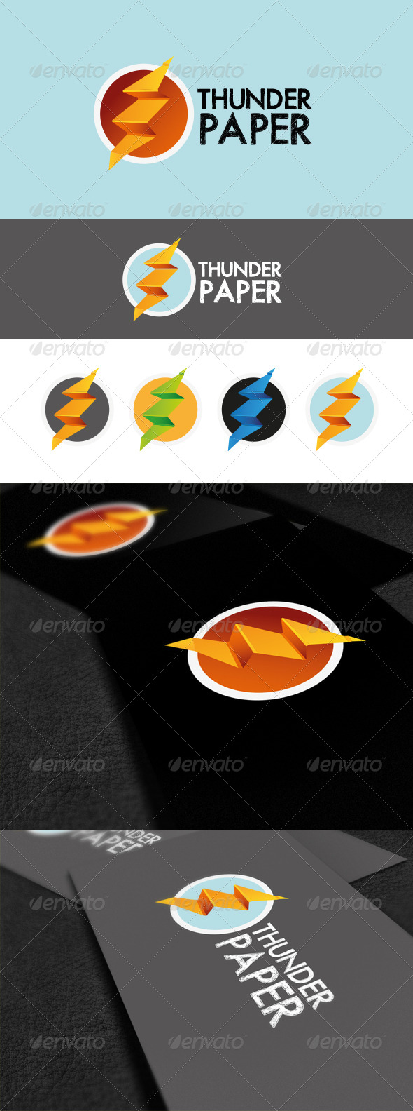 GraphicRiver Thunder Paper 5573213