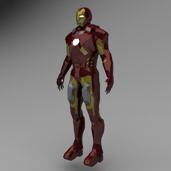 3DOcean Iron Man 5497008