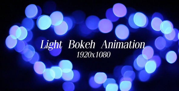 VideoHive Light Bokeh Animation 5573823