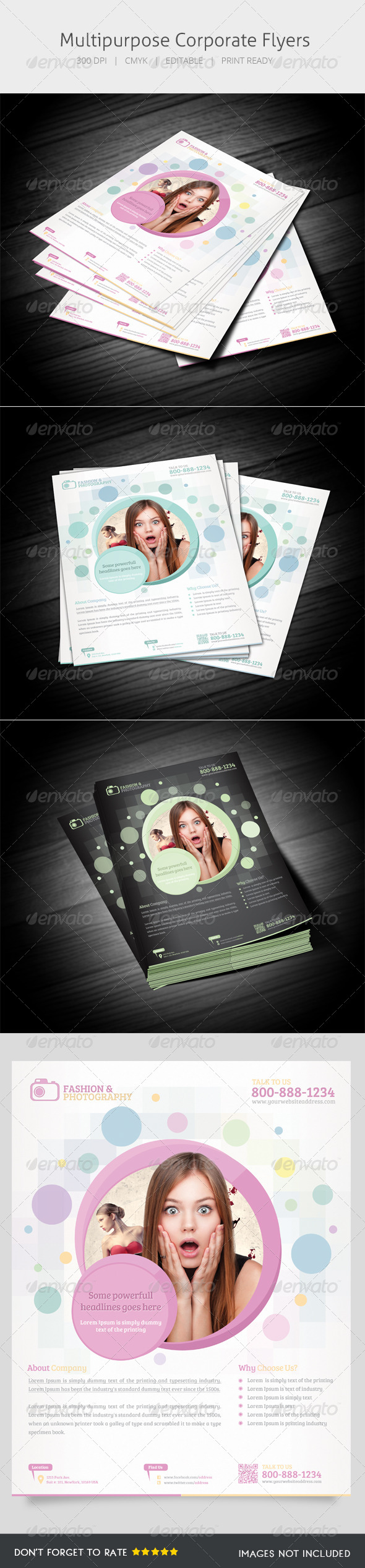 GraphicRiver Multipurpose Flyer V 5548944