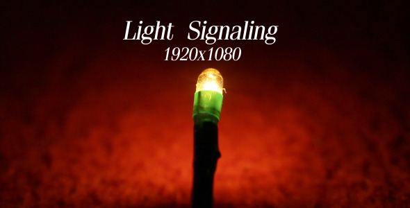VideoHive Light Signaling 5575433