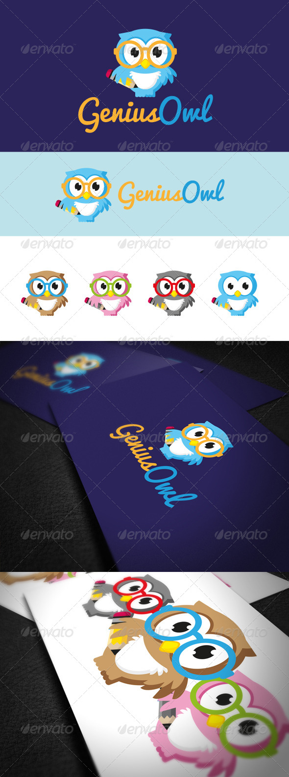 GraphicRiver Genius Owl 5576760